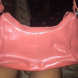 New melon color hobo purse kennith cole reaction
